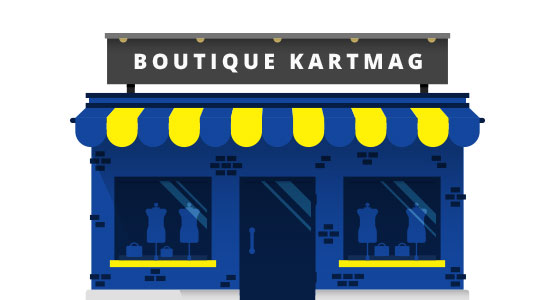 boutique kartmag